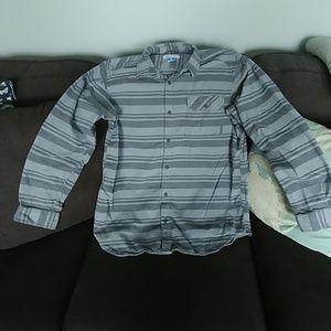 Mens Columbia flannel omni wick shirt XL